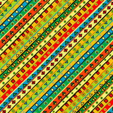 Fondo colorido con formas geométricas Imágenes de archivo libres de regalías