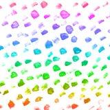 Fondo colorido de la acuarela abstracta de la mano, ejemplo de la trama Imágenes de archivo libres de regalías