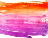 Fondo colorido de la acuarela Ilustración del vector Foto de archivo libre de regalías