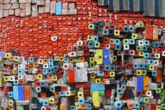 Fondo colorido de la baldosa cerámica Imagen de archivo