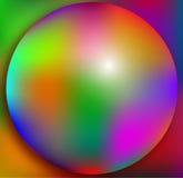 fondo colorido de la bola 3d Fotos de archivo