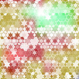 Fondo colorido de la estrella Foto de archivo libre de regalías