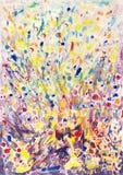 Fondo colorido de la explosión Imágenes de archivo libres de regalías