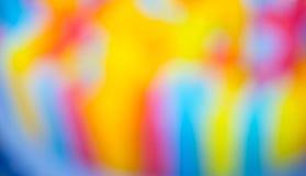 fondo colorido de la falta de definición de la paja Imagen de archivo libre de regalías