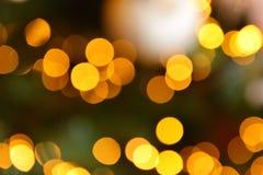 Fondo colorido de la falta de definición del bokeh de las luces del color, Chrismas Foto de archivo libre de regalías