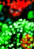 Fondo colorido de la luz del bokeh Imagenes de archivo