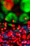 Fondo colorido de la luz del bokeh Fotos de archivo