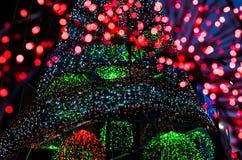 Fondo colorido de la luz del bokeh Fotografía de archivo libre de regalías