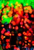 Fondo colorido de la luz del bokeh Foto de archivo