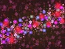 Fondo colorido de la Navidad Imagen de archivo libre de regalías