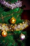 Fondo colorido de la Navidad Imagen de archivo