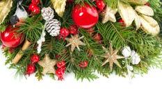 Fondo colorido de la Navidad Decoración del invierno Fotografía de archivo libre de regalías