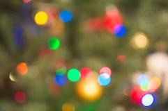 Fondo colorido de la Navidad y de la Feliz Año Nuevo Foto de archivo libre de regalías