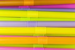 Fondo colorido de la paja Imágenes de archivo libres de regalías