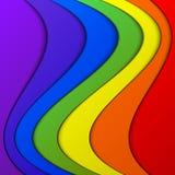 Fondo colorido de la pila Fotos de archivo