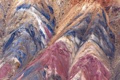 Fondo colorido de la roca de la textura de la montaña Imagen de archivo libre de regalías
