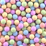 Fondo colorido de las bolas libre illustration