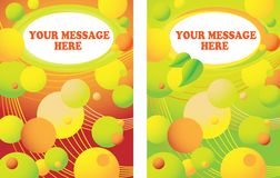 Fondo colorido de las burbujas Imagenes de archivo