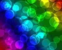 Fondo colorido de las burbujas Foto de archivo libre de regalías