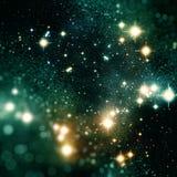 Fondo colorido de las estrellas stock de ilustración