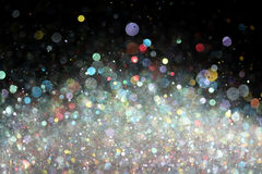 Fondo colorido de las luces Imagen de archivo