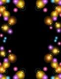 Fondo colorido de las luces ilustración del vector
