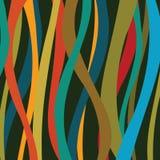 Fondo colorido de las rayas Fotografía de archivo