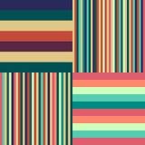 Fondo colorido de las rayas Foto de archivo libre de regalías