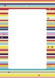 Fondo colorido de las rayas ilustración del vector