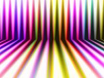 Fondo colorido de las rayas de la perspectiva abstracta Imagenes de archivo