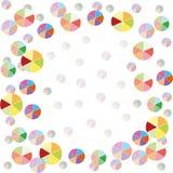 Fondo colorido de los globos stock de ilustración