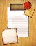 Fondo colorido de papeles Fotografía de archivo