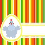 Fondo colorido de Pascua ilustración del vector
