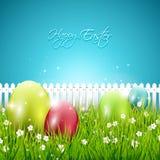 Fondo colorido de Pascua Imágenes de archivo libres de regalías