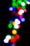 Fondo colorido defocused abstracto de la luz del bokeh Imagen de archivo libre de regalías