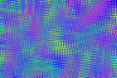Fondo colorido del arte abstracto Textura brillante del arco iris multicolor Modelo psicodélico en los colores de neón ilustración del vector
