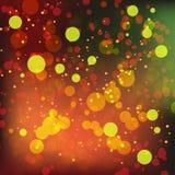 Fondo colorido del bokeh imagen de archivo libre de regalías