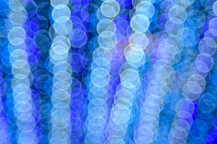 Fondo colorido del bokeh de la burbuja Imagen de archivo