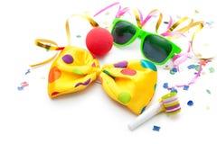 Fondo colorido del carnaval Fotografía de archivo libre de regalías