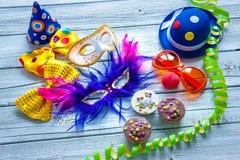 Fondo colorido del carnaval Imágenes de archivo libres de regalías