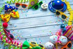 Fondo colorido del carnaval Fotos de archivo libres de regalías