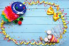 Fondo colorido del carnaval Fotos de archivo