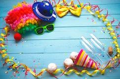 Fondo colorido del carnaval Foto de archivo libre de regalías