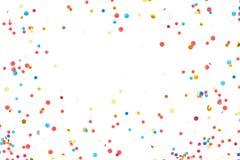 Fondo colorido del confeti stock de ilustración