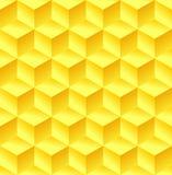 Fondo colorido del cubo abstracto Fotografía de archivo