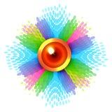Fondo colorido del diwali stock de ilustración