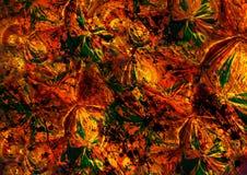 Fondo colorido del efecto floral abstracto libre illustration