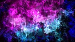 Fondo colorido del extracto del humo ilustración del vector