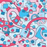 Fondo colorido del extracto del vector Imagen de archivo libre de regalías