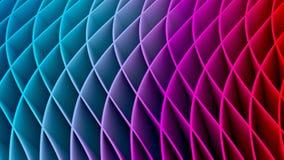 fondo colorido del fractal 3D Imagen de archivo